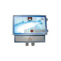 Панель управления аттракционами с пневмопускателем VC045 Fiberpool