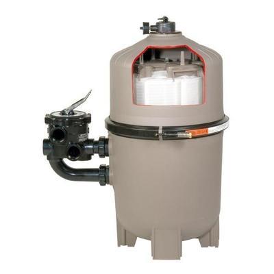 Фильтр D.E. PRO GRID 11м3/ч без вентиля