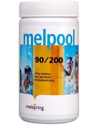 Хлор в таблетках по 200г 1кг Melpool 90/200 Melspring