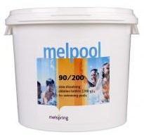 Хлор в таблетках по 200г 5кг Melpool 90/200 Melspring