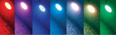 Прожектор 50 Вт LED RGB Pahlen нержавейка под бетон