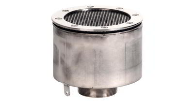 Водозабор с сетчатой крышкой д.165x100, пленка, нерж. AISI-304 Xenozone