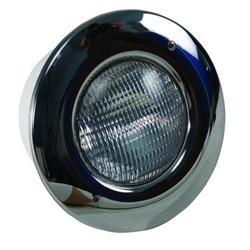 Прожектор 300Вт под лайнер Aquant с нерж. накладкой