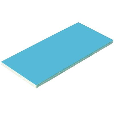 Плитка керамическая голубая Aquaviva 240x115x9 мм