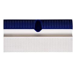 Плитка бордюрная с поручнем и водостоками кобальт+белый Aquaviva 240x115x30 мм