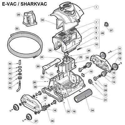 Робот пылесос Hayward SharkVac