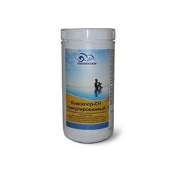 Кемохлор-СН быстрорастворимый гипохлорит кальция (хлор 70% ) в гранулах,  1 кг