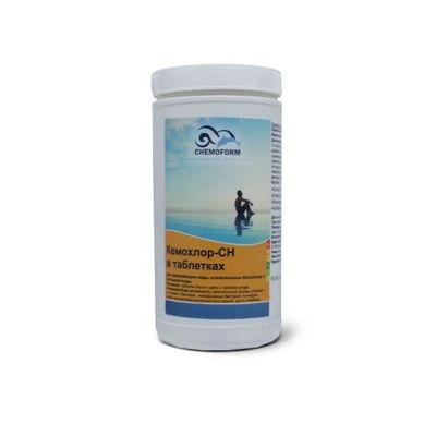 Кемохлор-СН быстрорастворимый гипохлорит кальция (хлор 70% ) в таблетках 20гр.,  1 кг