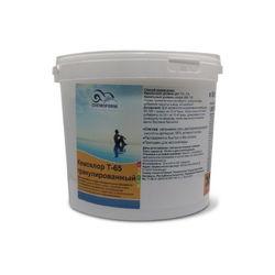 Кемохлор Т-65 быстрорастворимый стабилизированный хлор 56% в гранулах,  5 кг