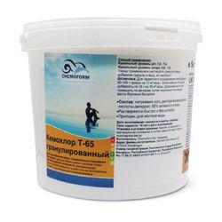 Кемохлор Т-65 быстрорастворимый стабилизированный хлор 56% в гранулах, 50 кг