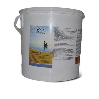 Кемохлор-Т быстрорастворимый стабилизированный хлор 50% в таблетках 20гр., 10 кг