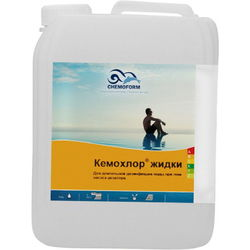Кемохлор гипохлорид натрия (жидкий хлор 15% )  35 кг