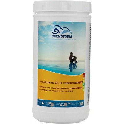 Аквабланк активный кислород в таблетках 20гр.  50кг