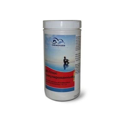 Увеличитель уровня Био pH+  1 кг в гранулах Chemoform