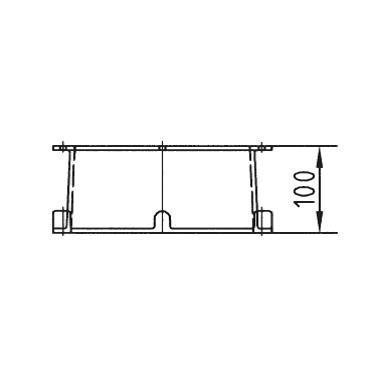 Удлинение горловины скиммера на 100 мм, бронза, в комплекте с прокадкой и винтами