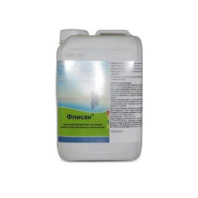 Флисан жидкое средство на основе щелочи для чистки поверхностей и фильтров  3л Chemoform