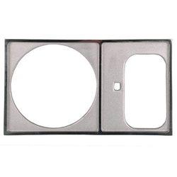 Рамка для скиммера 240 мм и камеры долива, верхняя, нерж.сталь