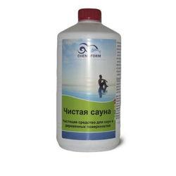 Чистая сауна жидкое средство с акт. кислородом для деревянных поверхностей  1л  Chemoform