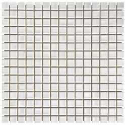 Мозаика стеклянная AquaViva YF-MSLM01 белая