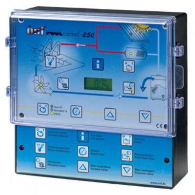 Панель управления фильтрацией и нагревом Pool-Control-250, 220/380В, 3кВт, защита до 8А