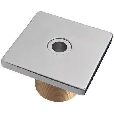 """Форсунка подающая стеновая,  квадратная, 2"""" н.р., длина 40 мм, с г/м отверстием 18 мм, 103х103,"""