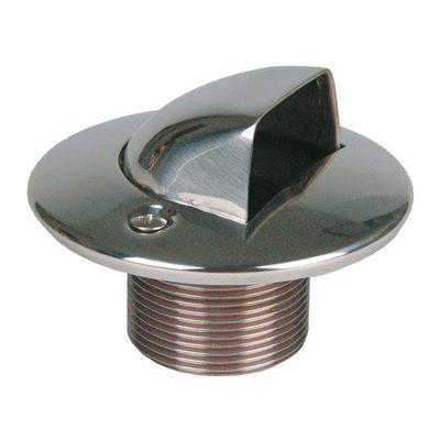 """Форсунка подающая в бок 1 1/2"""" н.р., длина 40 мм , для бет. басс., бронза/накладка нерж.сталь"""