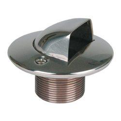 """Форсунка подающая в бок 1 1/2"""" н.р., длина 70 мм, для бет. басс., бронза/накладка нерж.сталь"""