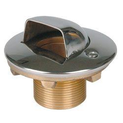 """Форсунка подающая в бок 1 1/2"""" н.р., длина 40 мм , для плен. басс., бронза/накладка нерж.сталь"""