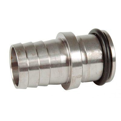 Переходник-наконечник NiSn с уплотнительной прокладкой для скиммеров 1010020 и 1262020, нерж.сталь