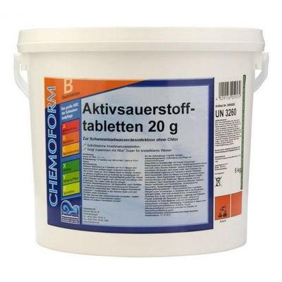 Аквабланк активный кислород в таблетках 20гр.   5кг