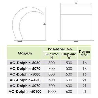 Водопад Дельфин АС-5070 AquaViva