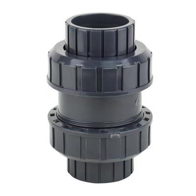 Обратный клапан ПВХ, шаровый, 50-63 мм ERA