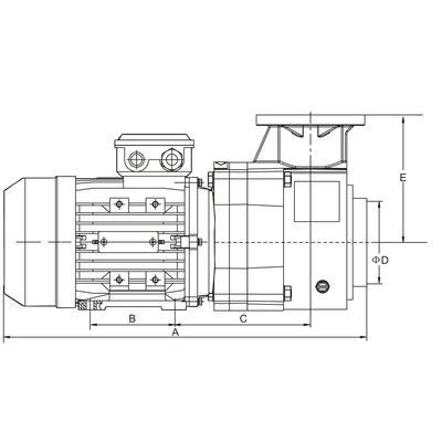 Насос 3 фазы BQP-5.5 AquaViva