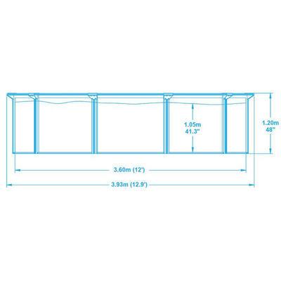 Сборный бассейн 360x120 см Hydrium Bestway