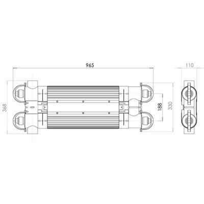 Ультрафиолетовая установка 2х55Вт, 36000 л/час Spectrum UV-S Elecro