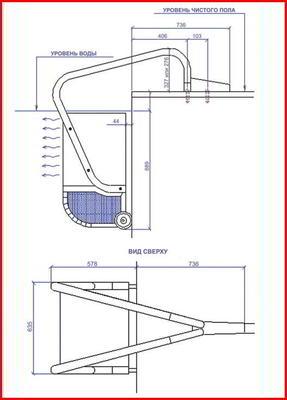 Противоток навесной 1140 м3/ч (220 B) Fastlane Endless Pools