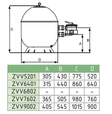 Фильтровальная установка Fiberpool ZVV51 10,5м3/ч