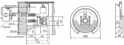 Противоток Taifun Fitstar 63м3/ч (насосный комплект) Hugo Lahme