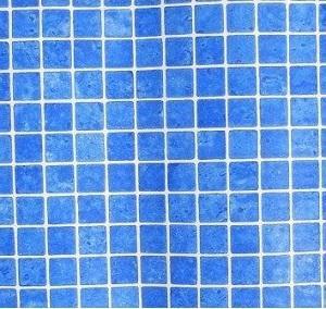 Пленка пвх под мозаику GLOSSY PRINTED MOSAIC BLUE FLAGPOOL