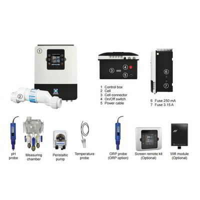 Станция контроля качества воды 10 г/час Aquarite Plus TCELL3 + Ph Hayward