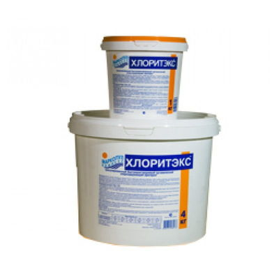 ХЛОРИТЭКС быстрый органический хлор (гранулы) ведро 9 кг