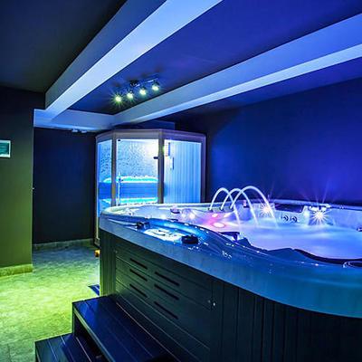 Гидромассажный бассейн 220х220х96 см, WiFi+MicroSilk Dreamline-II IQUE