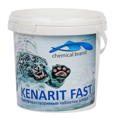 Шок-хлор в таблетках по 20г 0,8кг КЕНАРИТ ФАСТ Kenaz