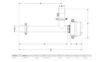Электронагреватель MAX DAPRA D-EWT-EV 9кВт, нерж. сталь, ТЭН из Incoloy 825