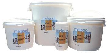 Хлор в гранулах 1кг Melpool 63/G Melspring