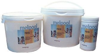 Гипохлорит в гранулах 5кг Melpool 70/G Melspring