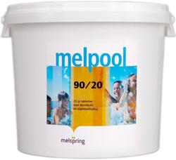 Хлор в таблетках по 20г 25кг Melpool 90/20 Melspring