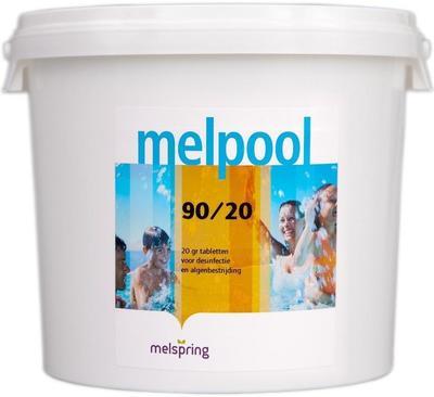 Хлор в таблетках по 20г 10кг Melpool 90/20 Melspring