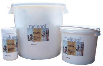 Хлор в таблетках по 200г 10кг Melpool 90/200 Melspring