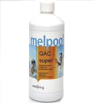 Альгицид концентрированный 1л Melpool QAC SUPER Melspring